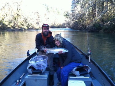 Oregon steelhead guide