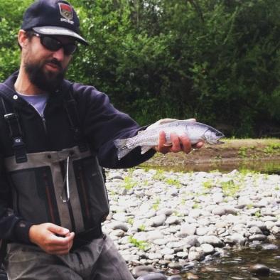 Willamette trout fishing, Fly Fishing, Fishing guide, Eugene area fishing guide