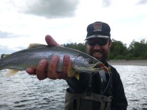 Eugene Trout Fishing, Cutthroat trout, guided fishing, guided fly fishing